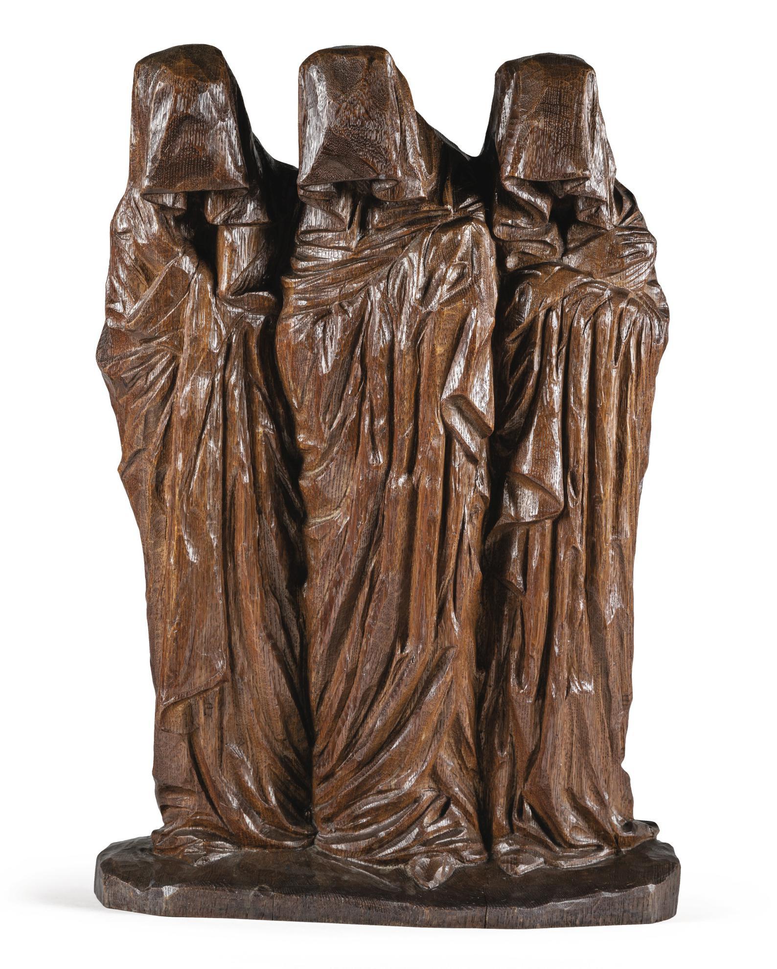George Minne - Les Saintes Femmes Au Tombeau-1906
