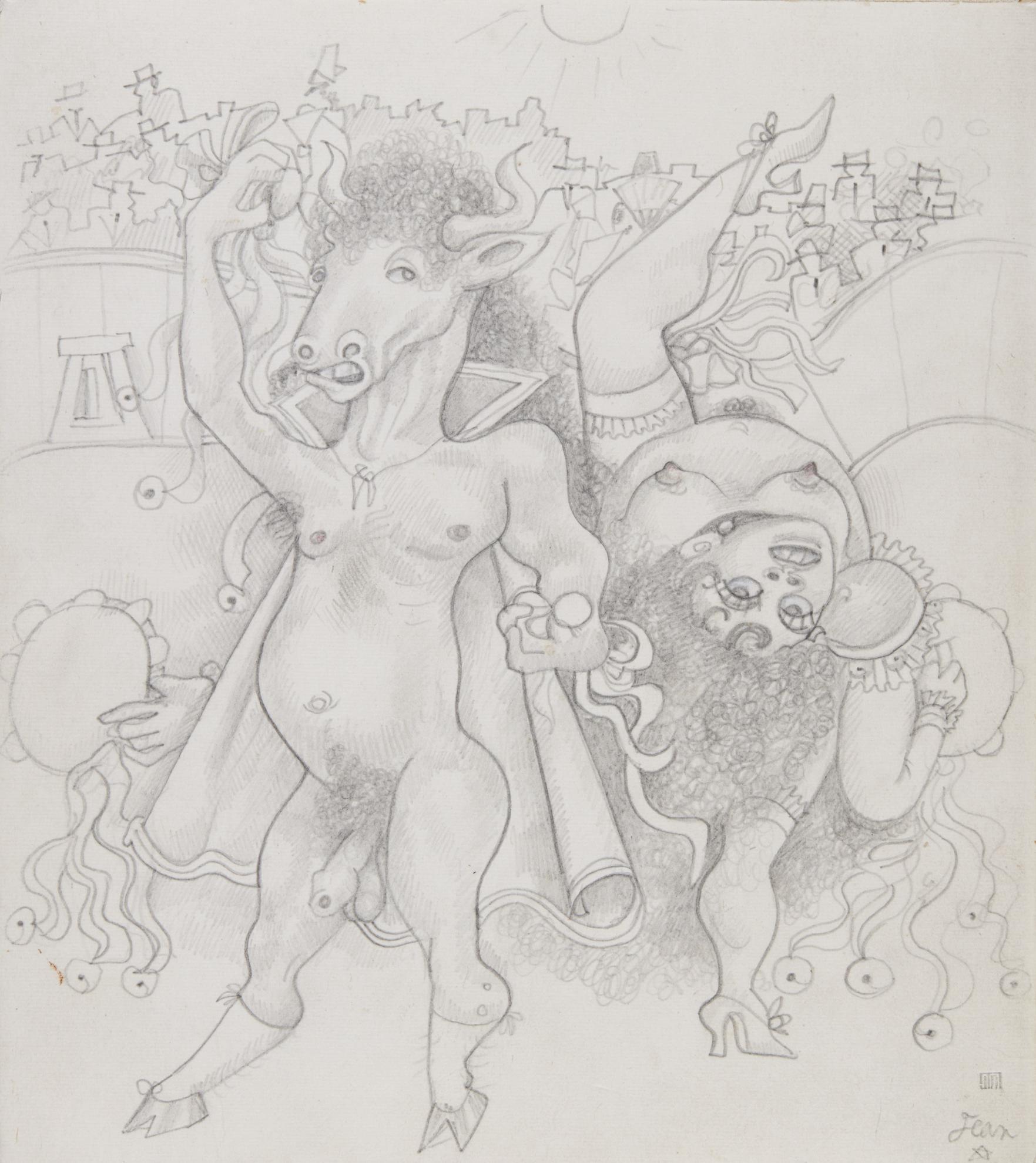 Jean Cocteau-Allegorie De Lespagne-1936