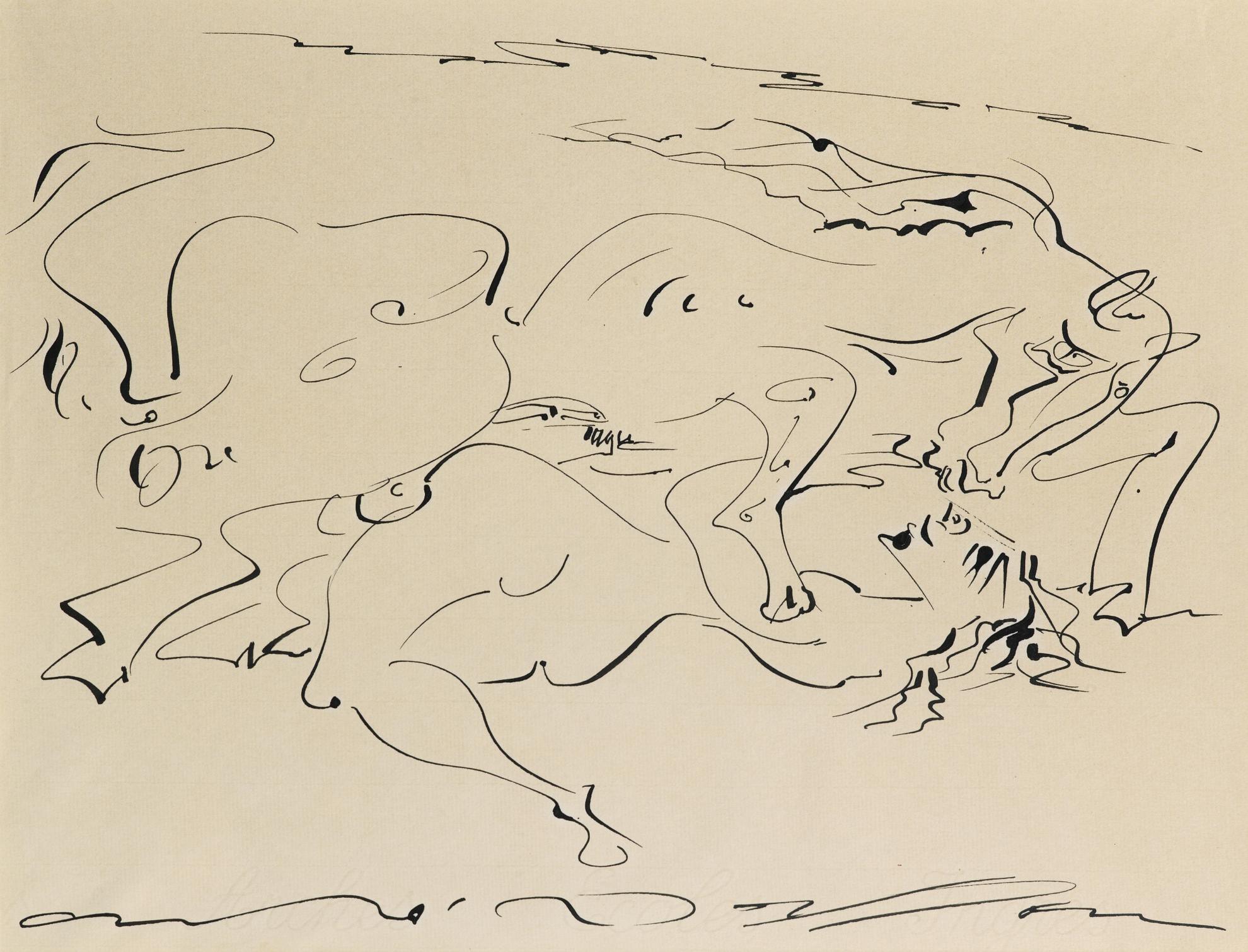 Andre Masson-Viol-1960