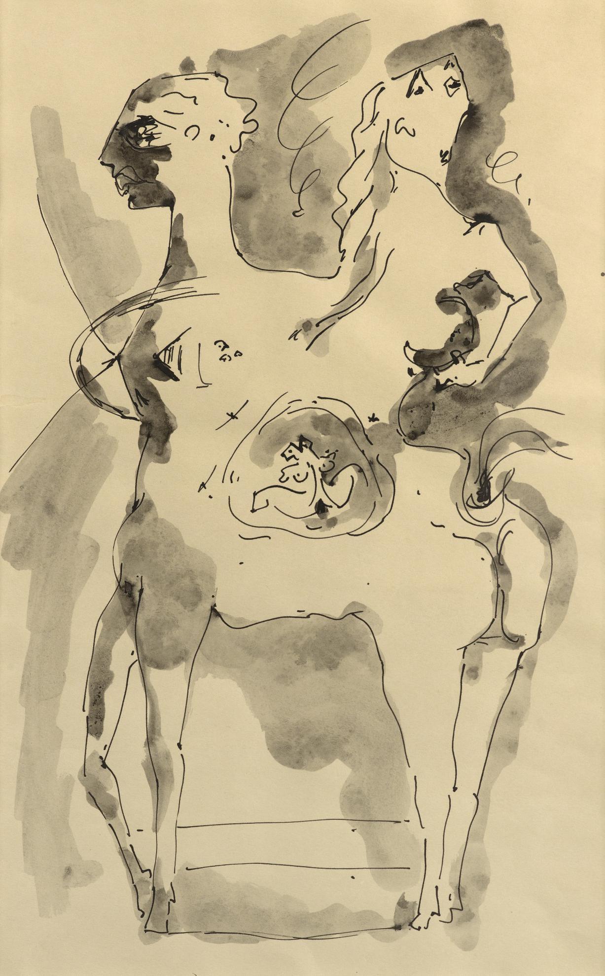 Andre Masson-Amour De Centaures-1943