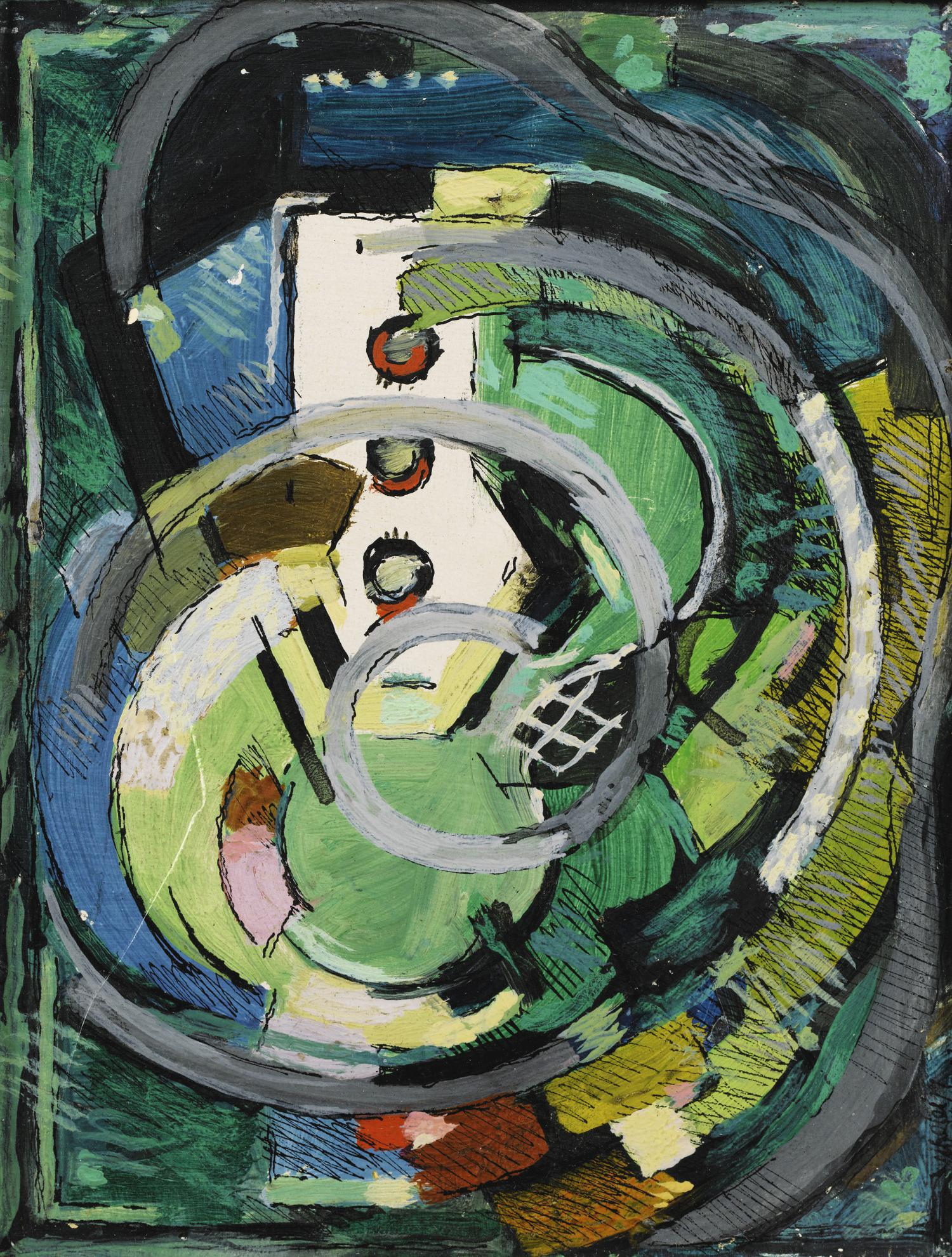 Albert Gleizes-Composition-1933