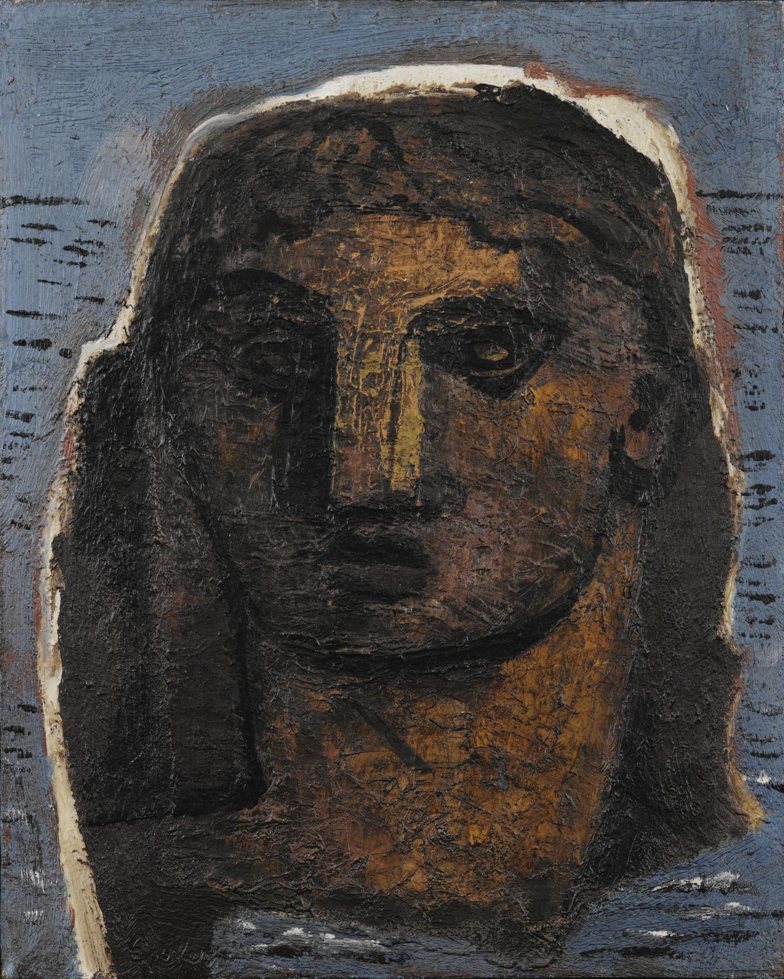 Jean Souverbie - Portrait De Femme-1929