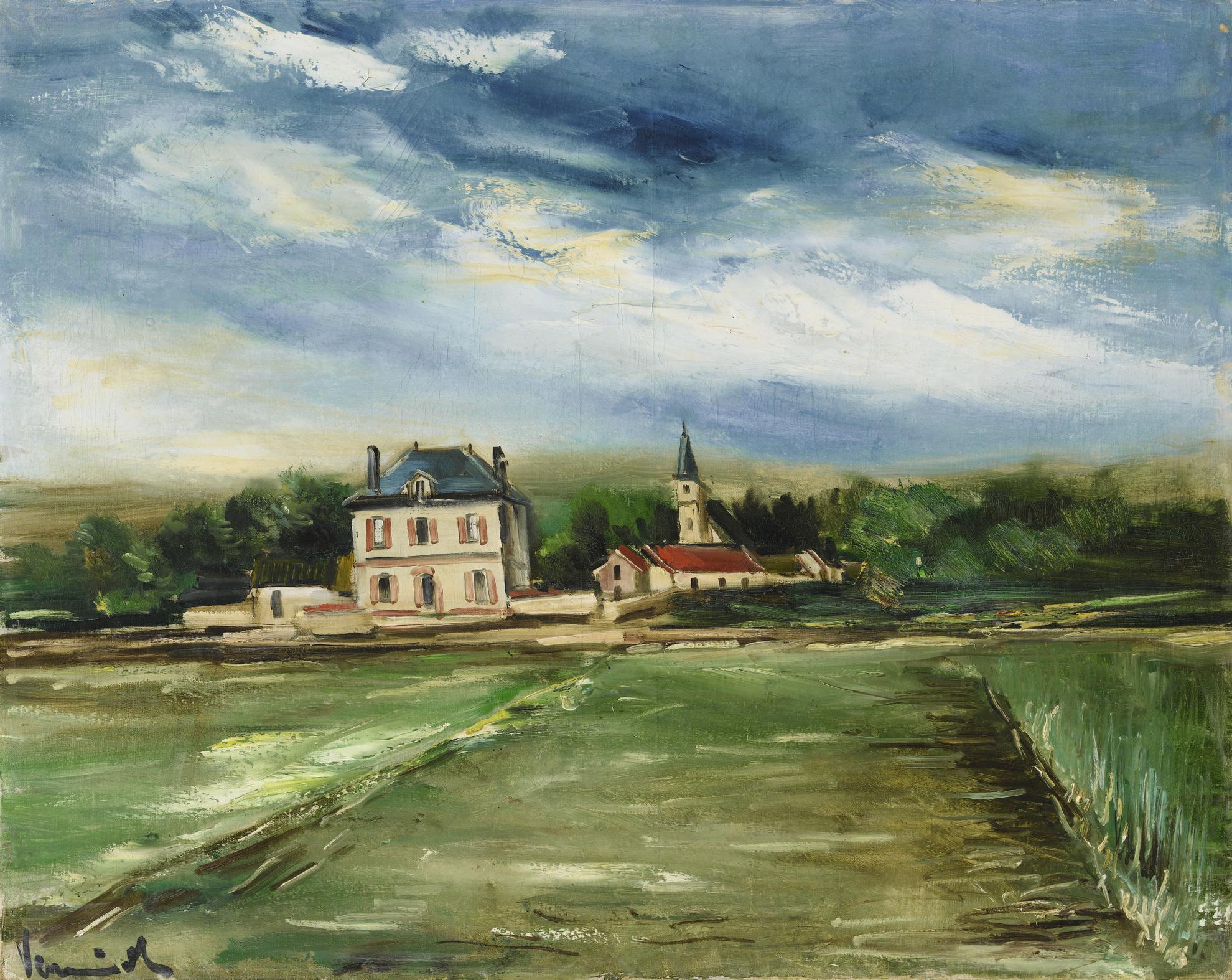 Maurice de Vlaminck-Environs De Dreux-1929