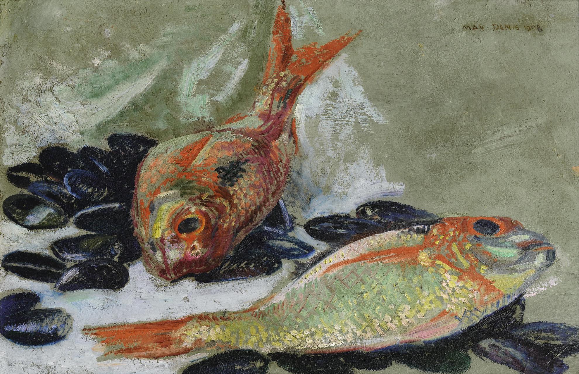 Maurice Denis-Dorades Et Moules-1908