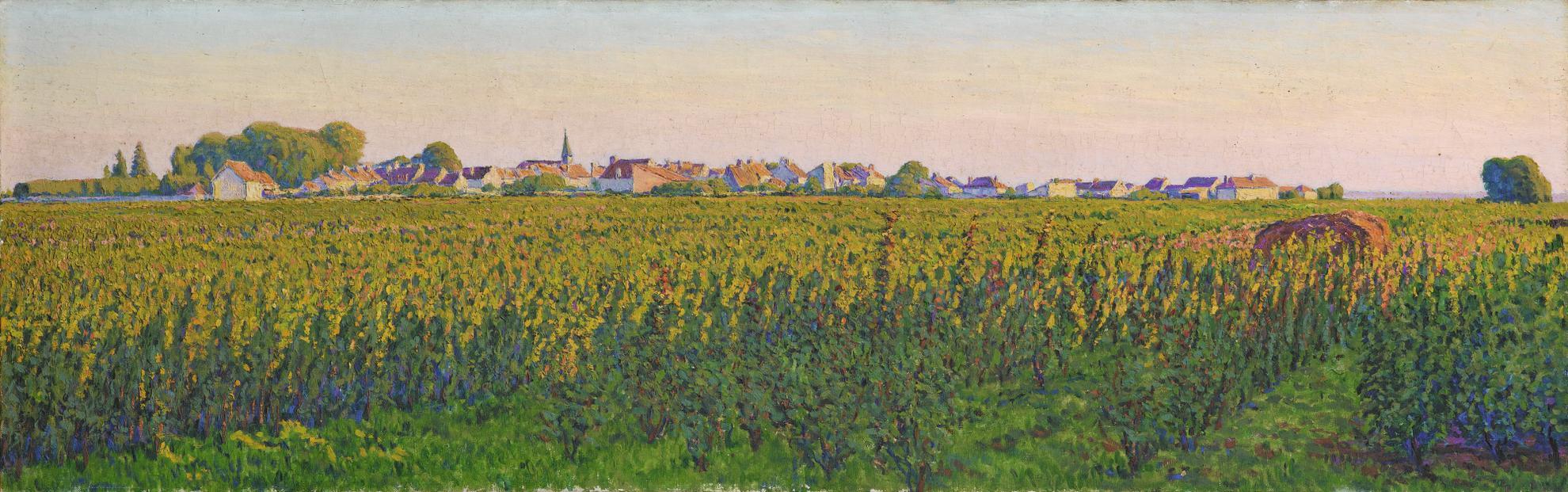 Gustave Cariot-Le Village De Perigny-