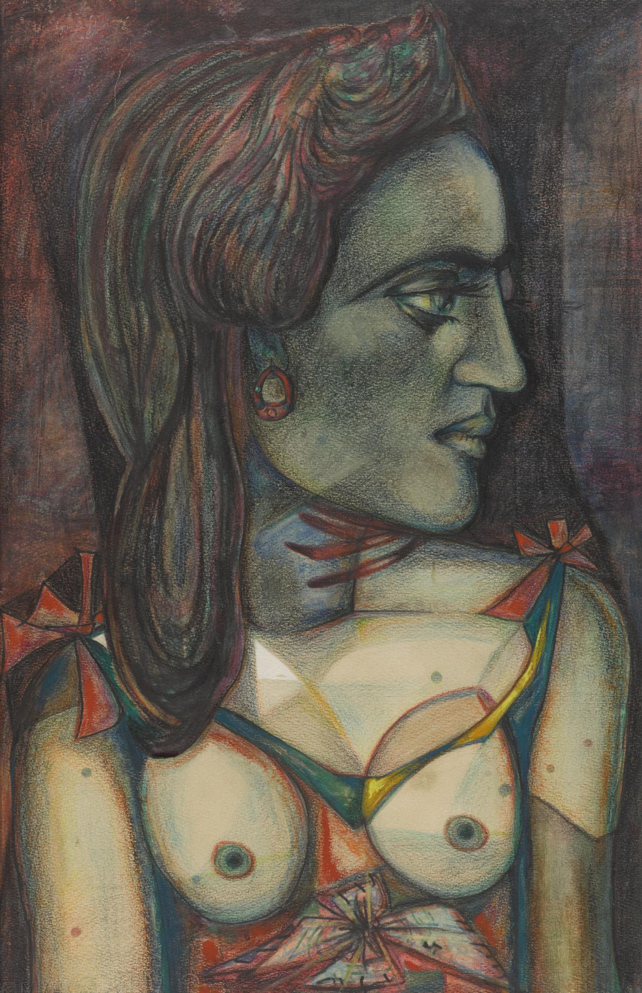Fouad Kamel - The Green Face-1956