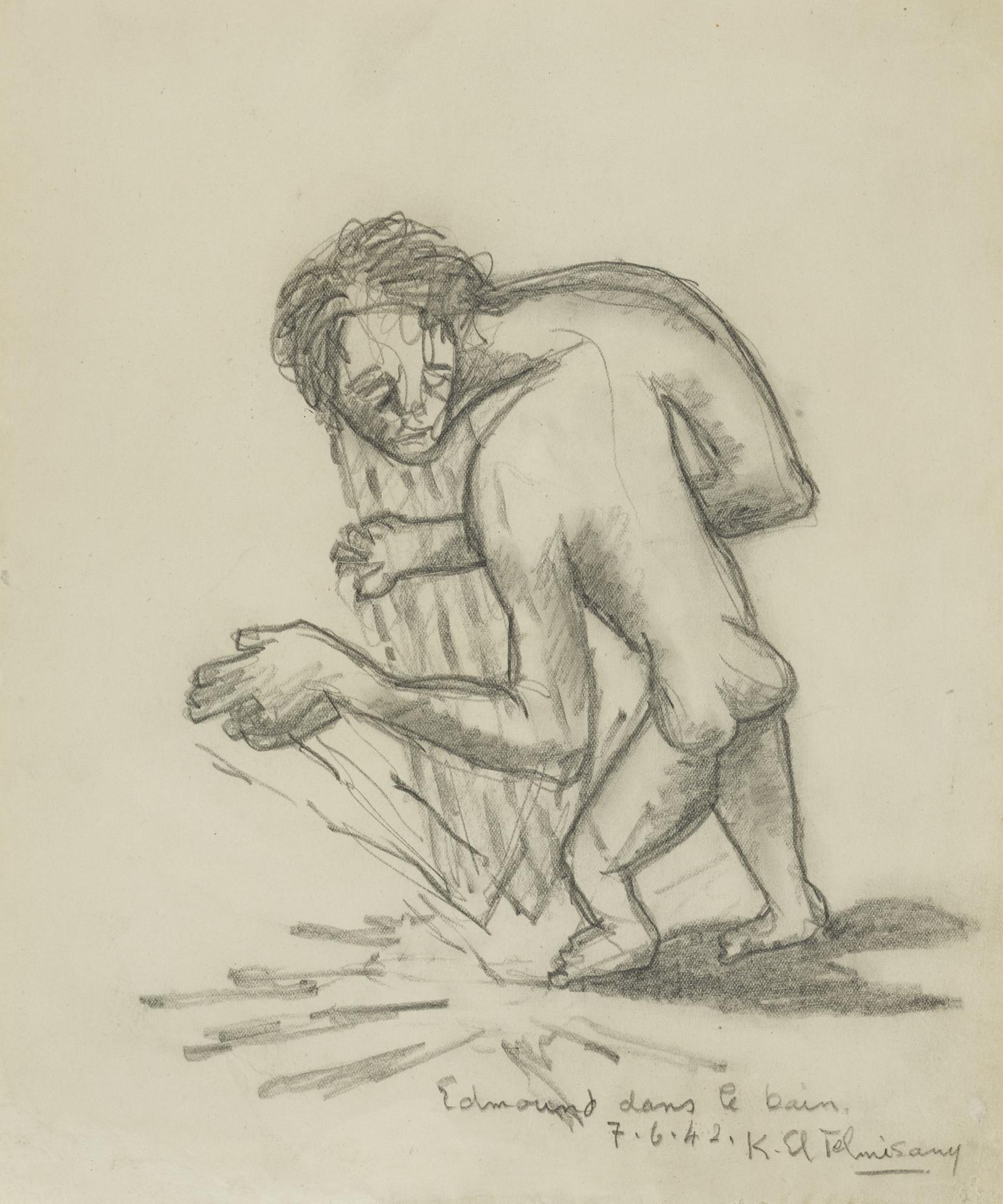 Kamel El Telmissany - Edmound Dans Le Bain-1942