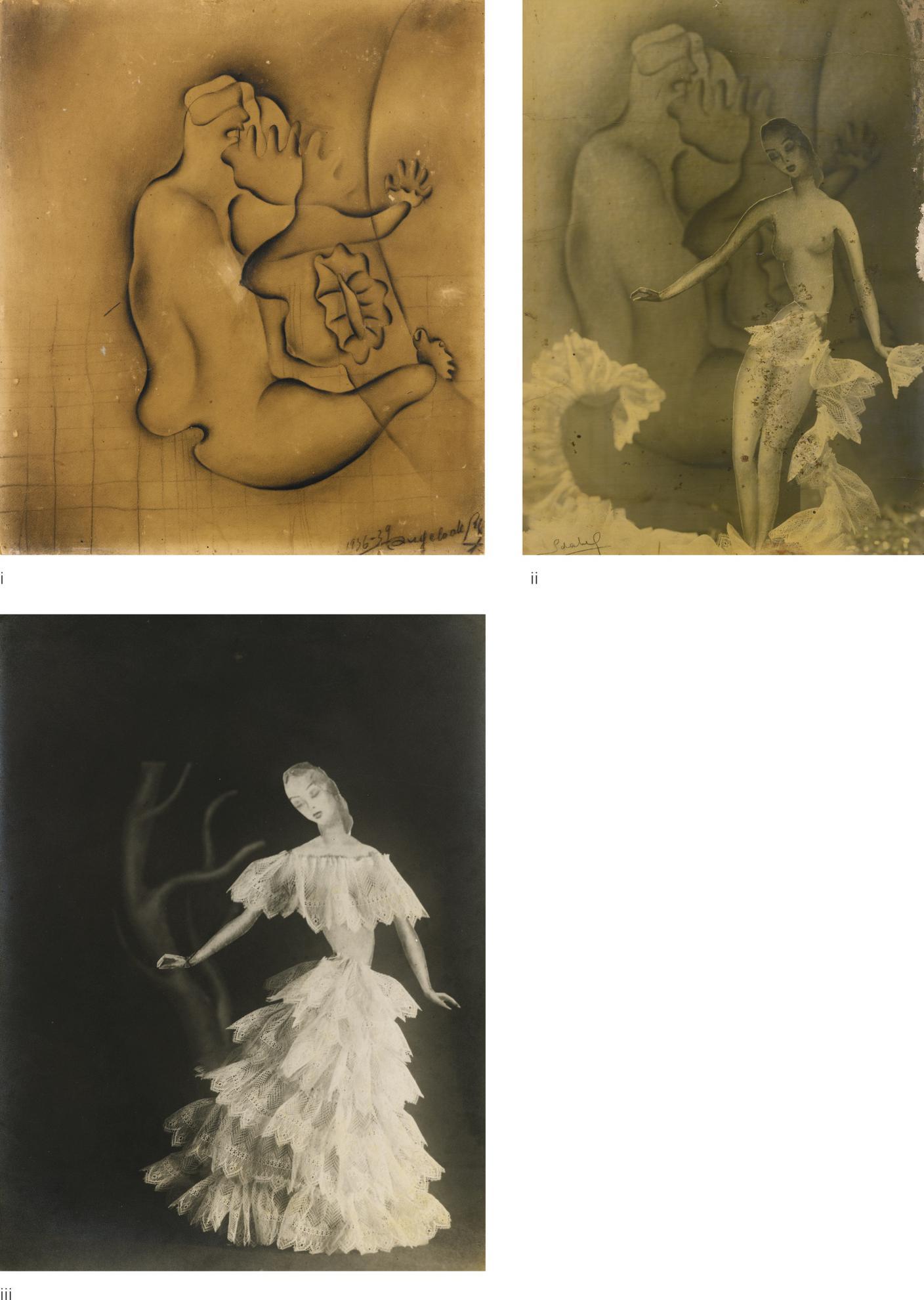 Angelo De Riz - (i) Untitled (Surrealist Study); (ii) Untitled (Surrealist Study); (iii) Untitled (Surrealist Study)-1936