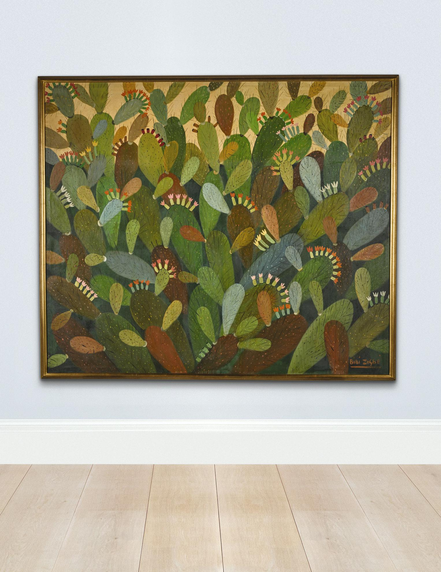 Bibi Zogbe - Cactus-1950