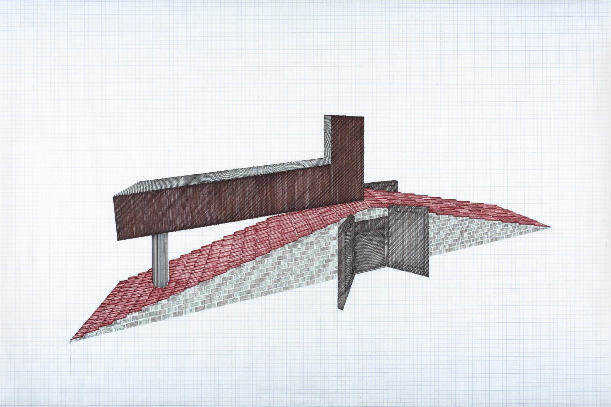Siah Armajani - Tomb for Neema-2014