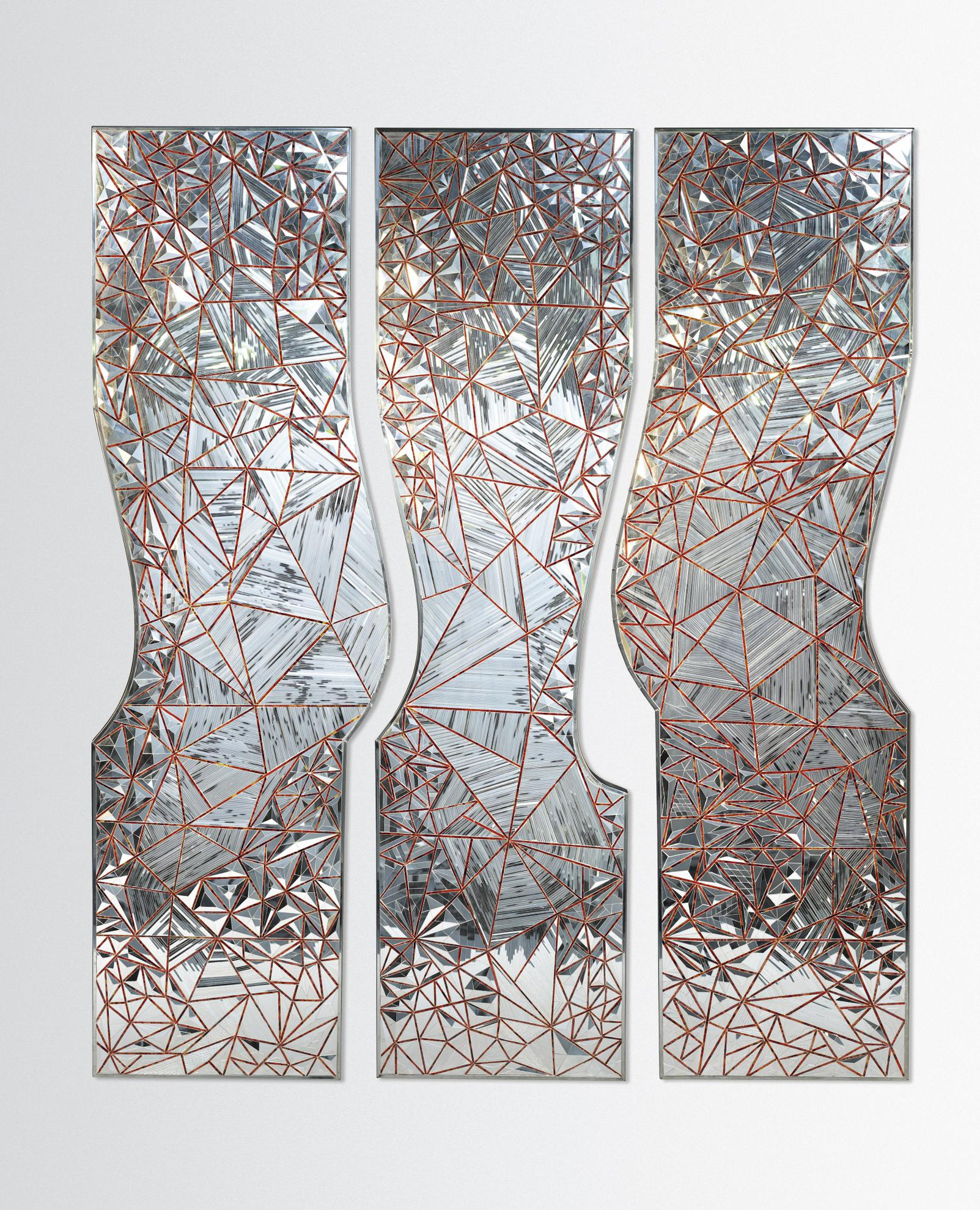 Monir Farmanfarmaian - Three Graces-2008