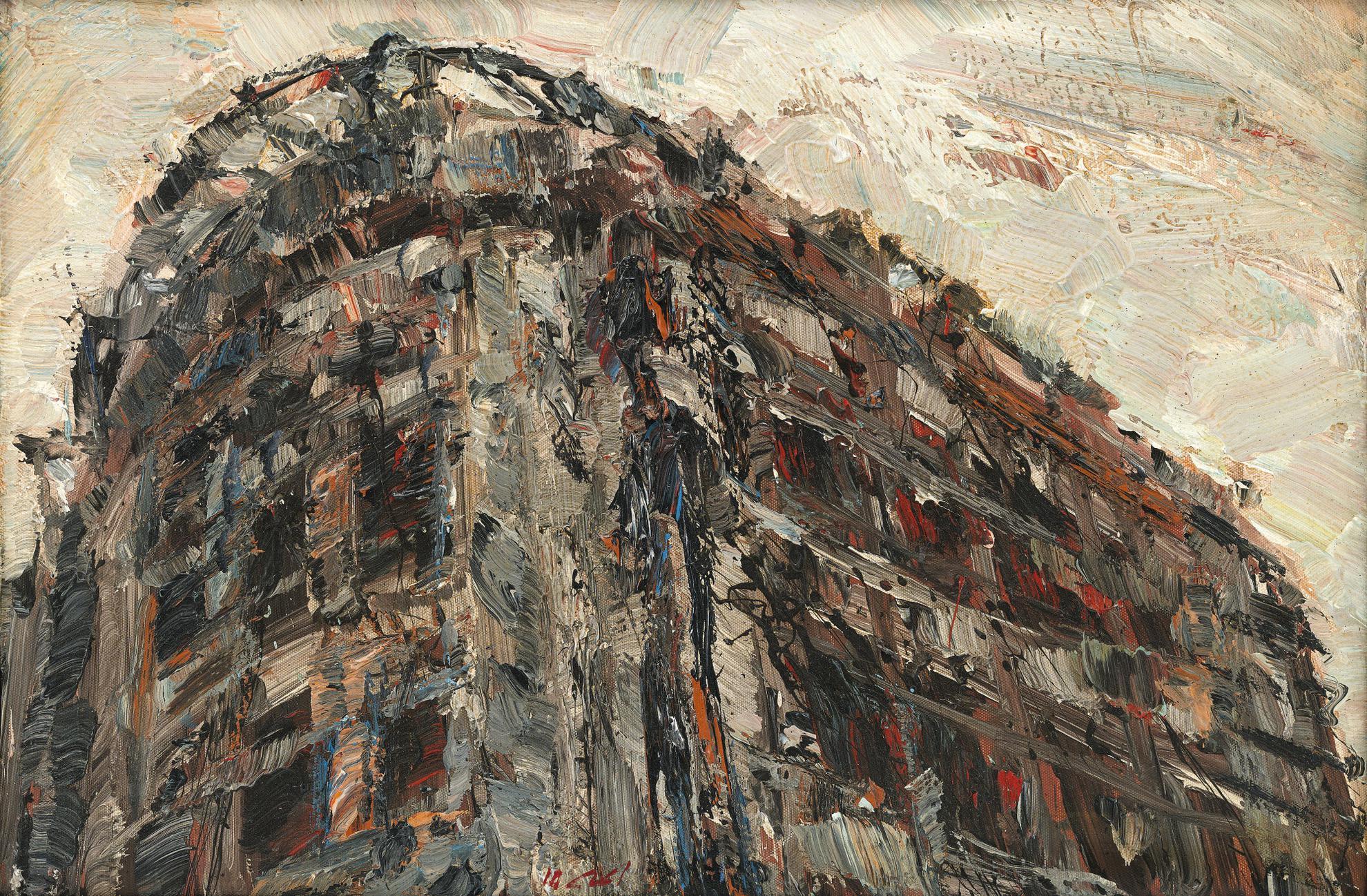 Ayman Baalbaki-Ruine - Forme 8-2010
