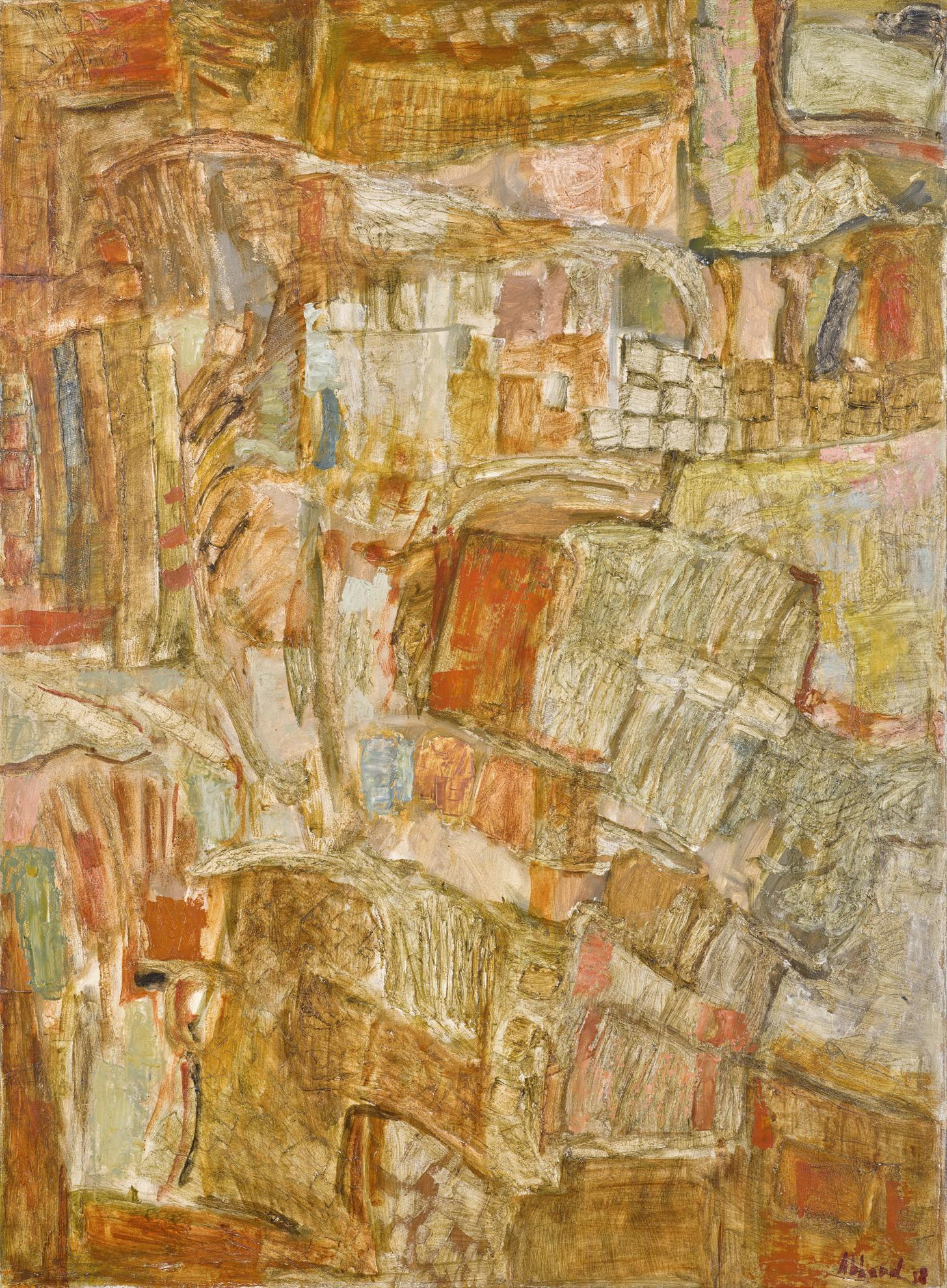 Shafic Abboud-Untitled-1958