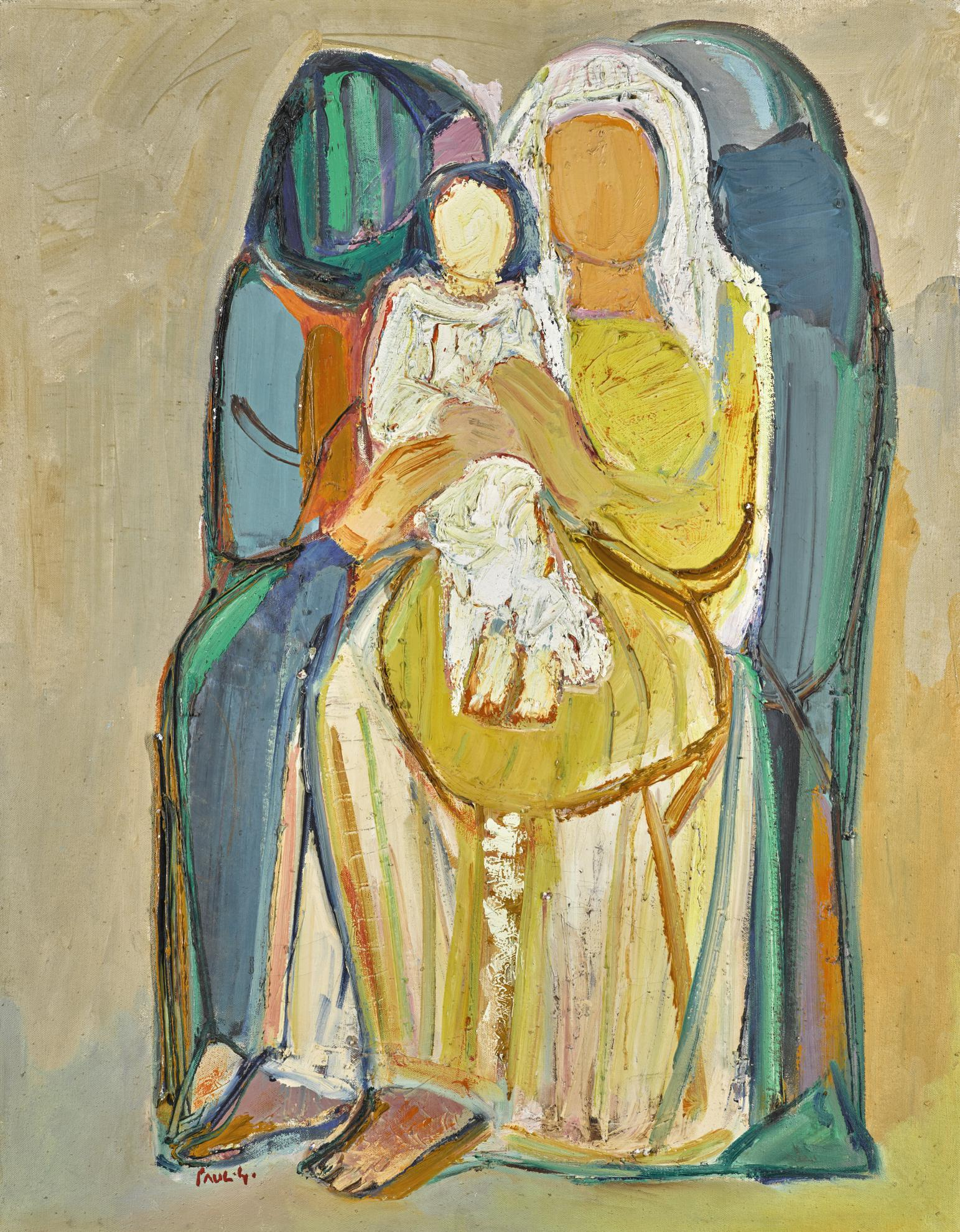 Paul Guiragossian-Motherhood-1992