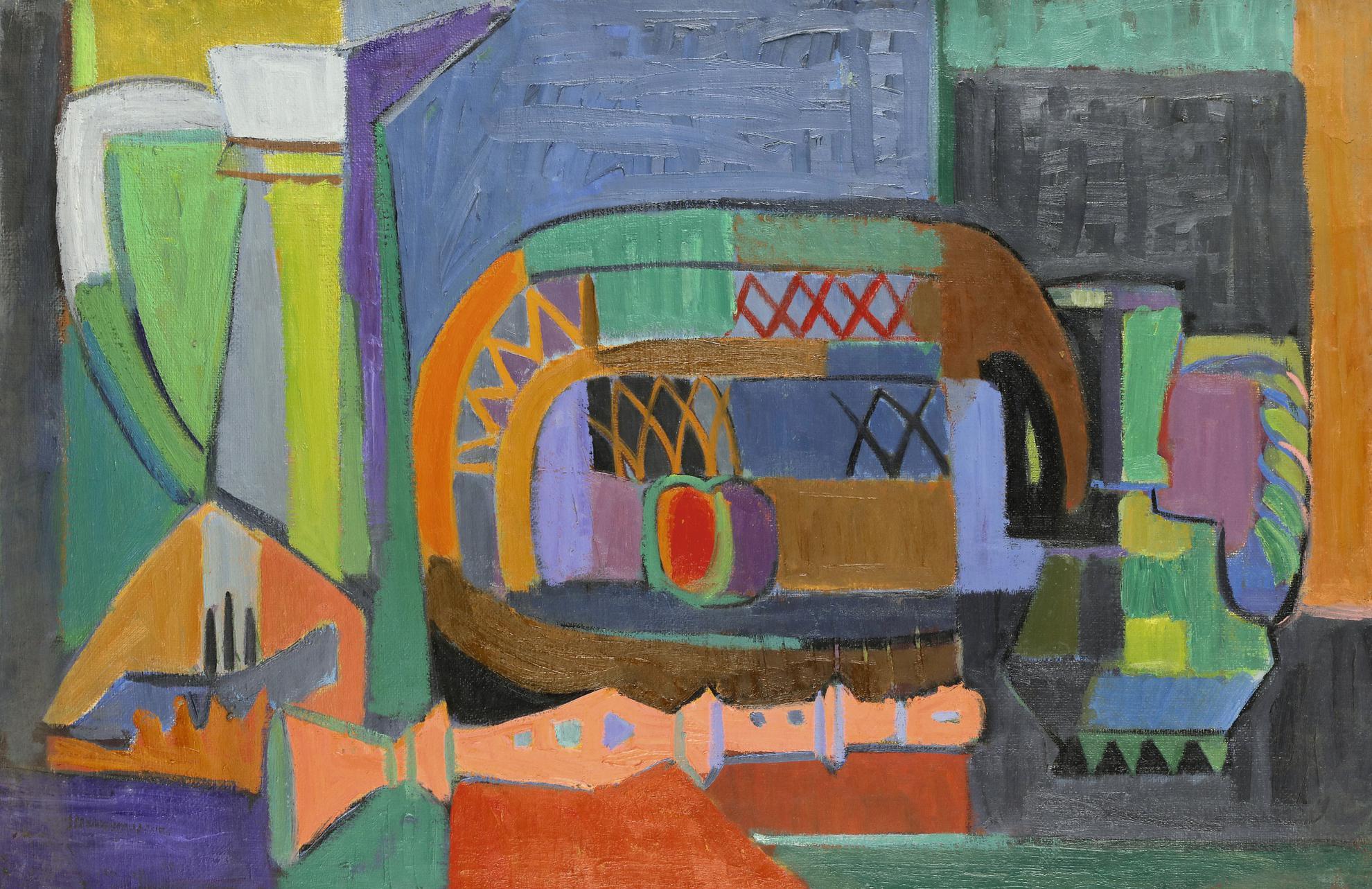 Salah Yousri - Untitled (Still Life)-1950