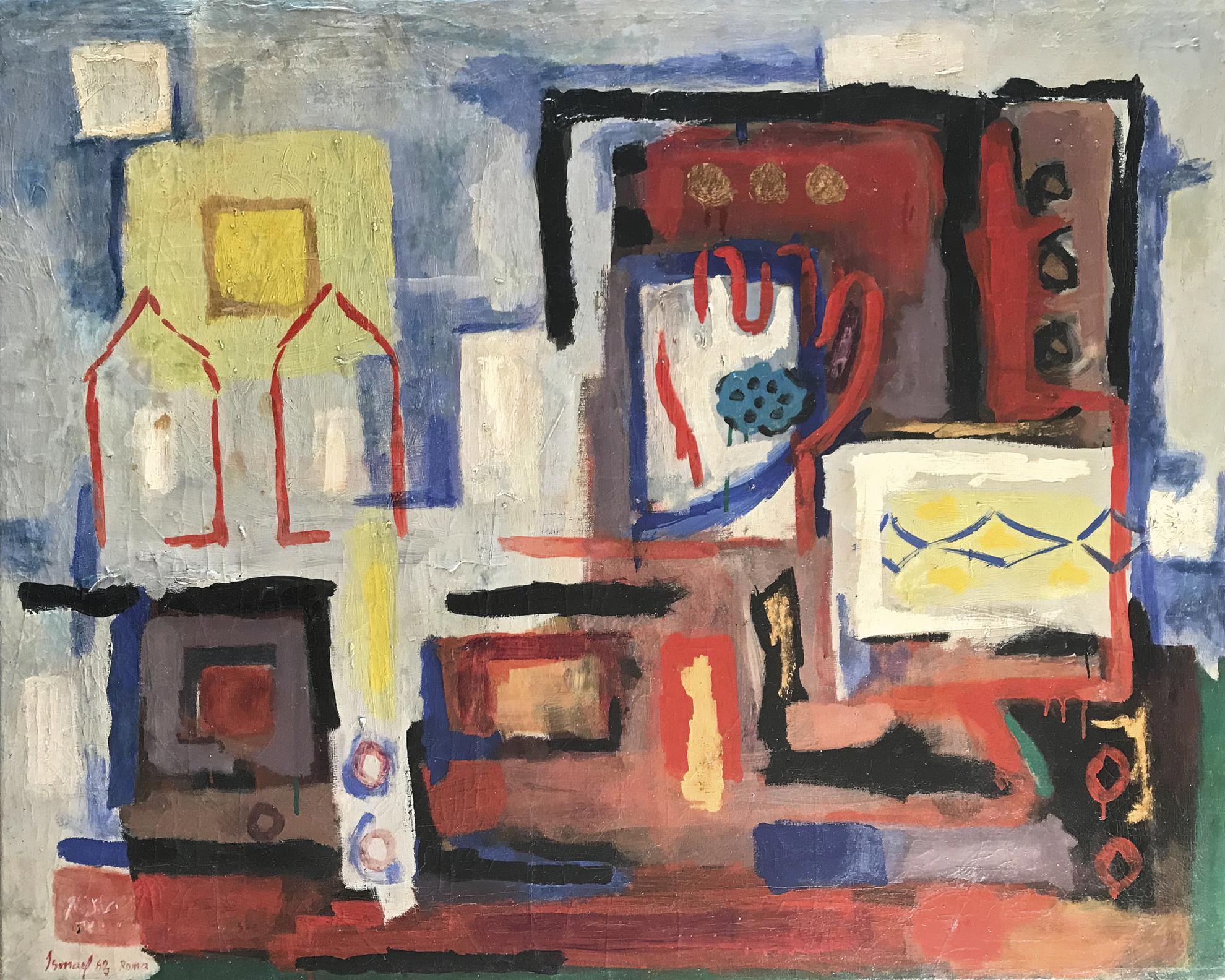 Ismail Fattah - Homage to Jewad (Selim)-1963