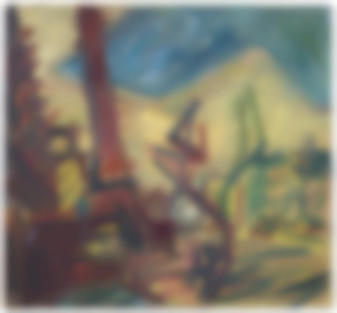 Frank Auerbach-Tree In Mornington Crescent-1992