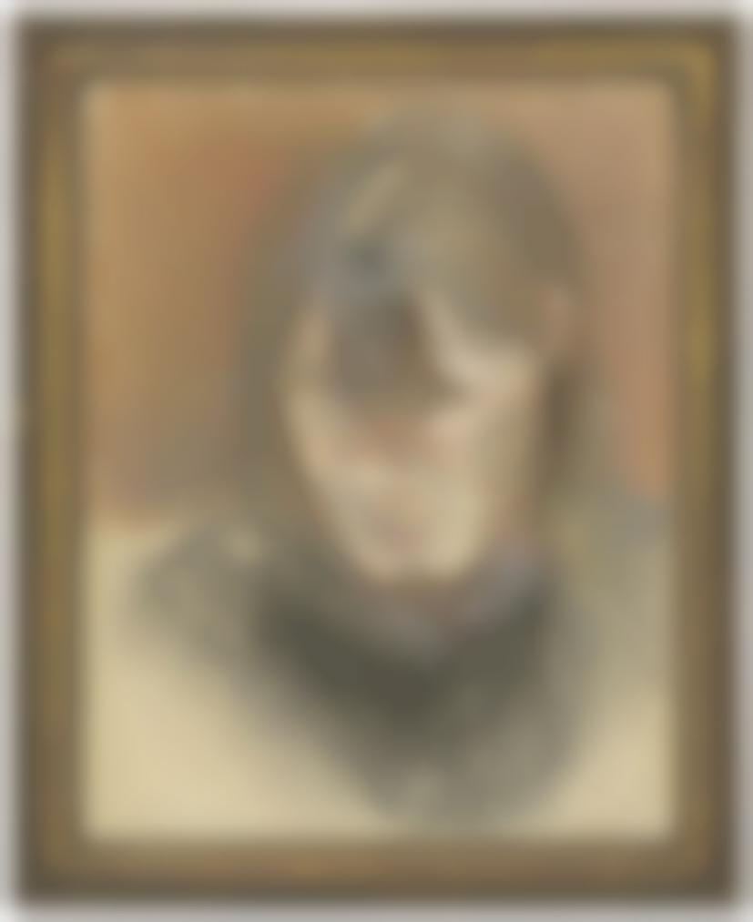 Lucian Freud-Head Of A Woman-1980