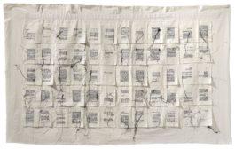 Maria Lai - Lenzuolo (Bed Sheet)-1989