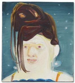 Dana Schutz-Albino With Wig-2002