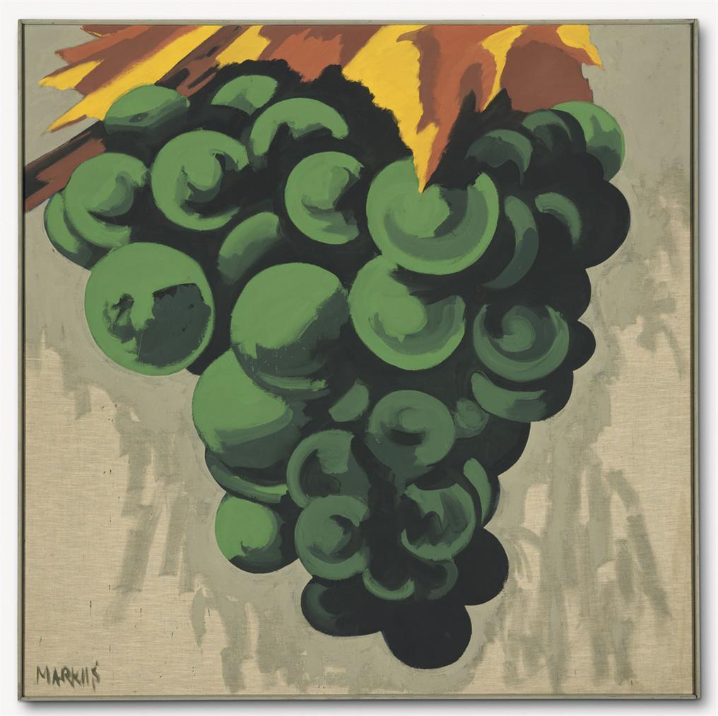 Markus Lupertz-Weintraube (Dithyrambisch) (Grape (Dithyrambic))-1970