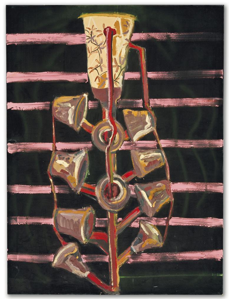 Julian Schnabel-Untitled (The Misunderstood One)-1986