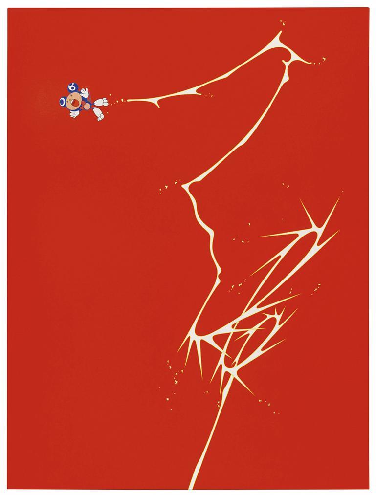 Takashi Murakami-Dob Jump-1999