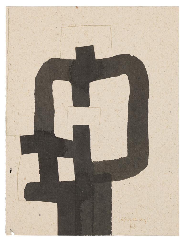 Eduardo Chillida-Untitled-1984