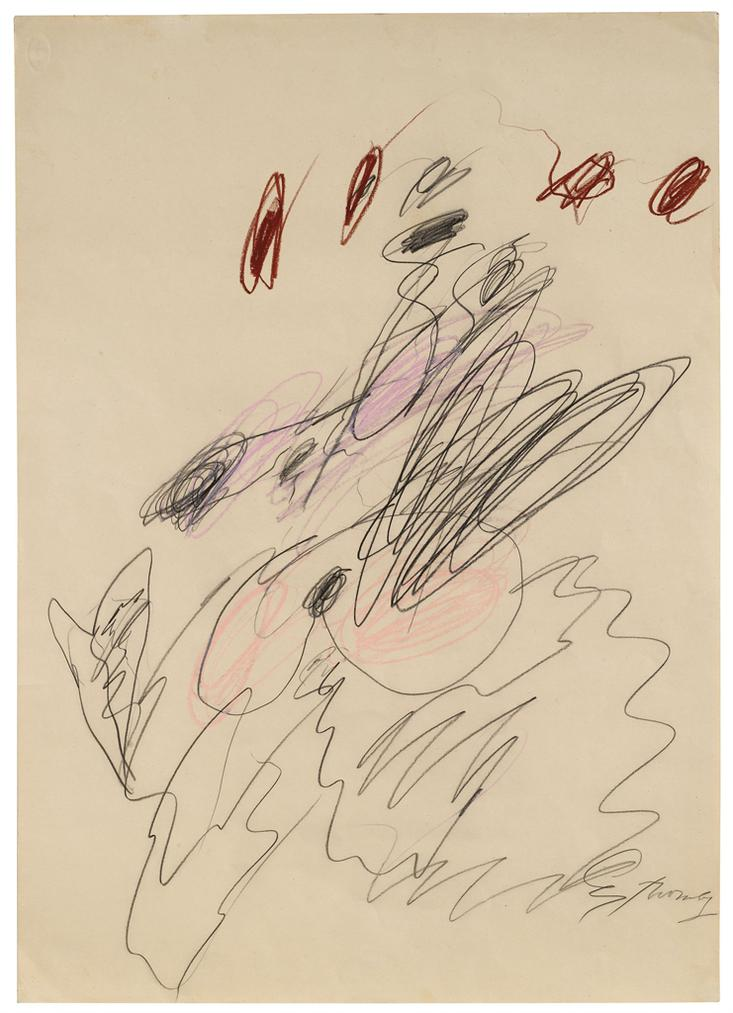 Cy Twombly-Untitled-1962
