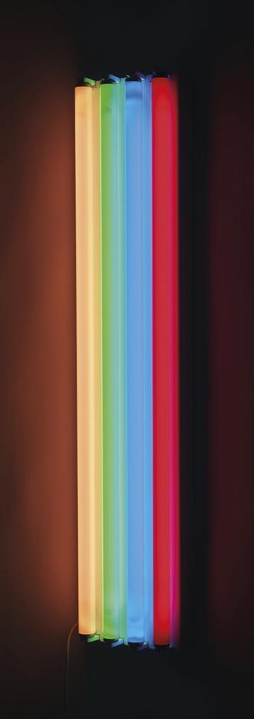 Dan Flavin-Untitled (To Jean-Christophe)-1970