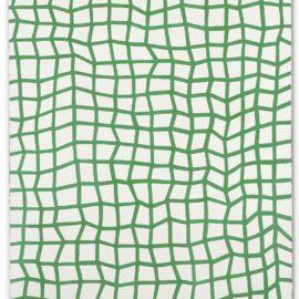 Yayoi Kusama-Interminable Nets (Green No. 53)-1982