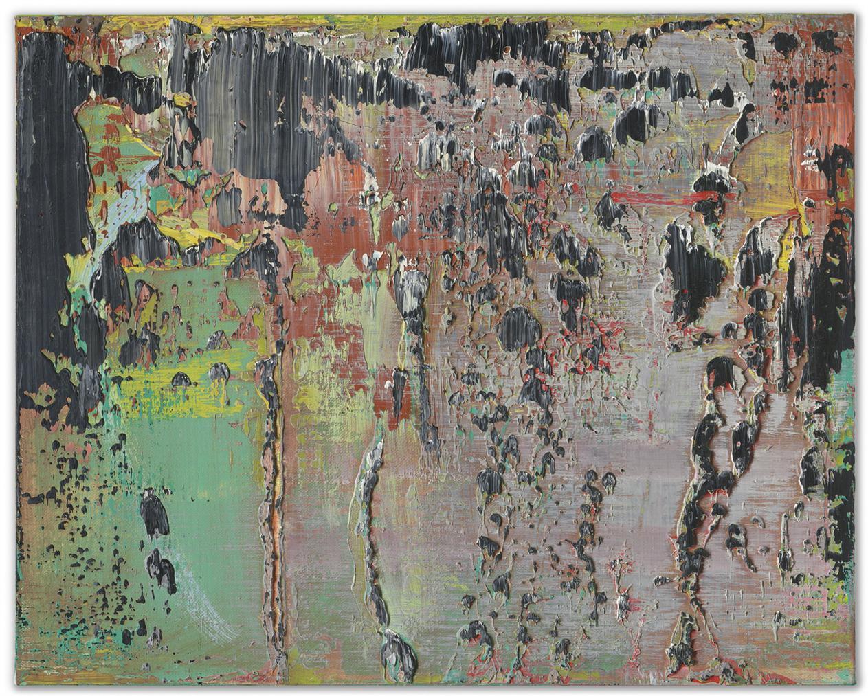 Gerhard Richter-Abstraktes Bild-1990
