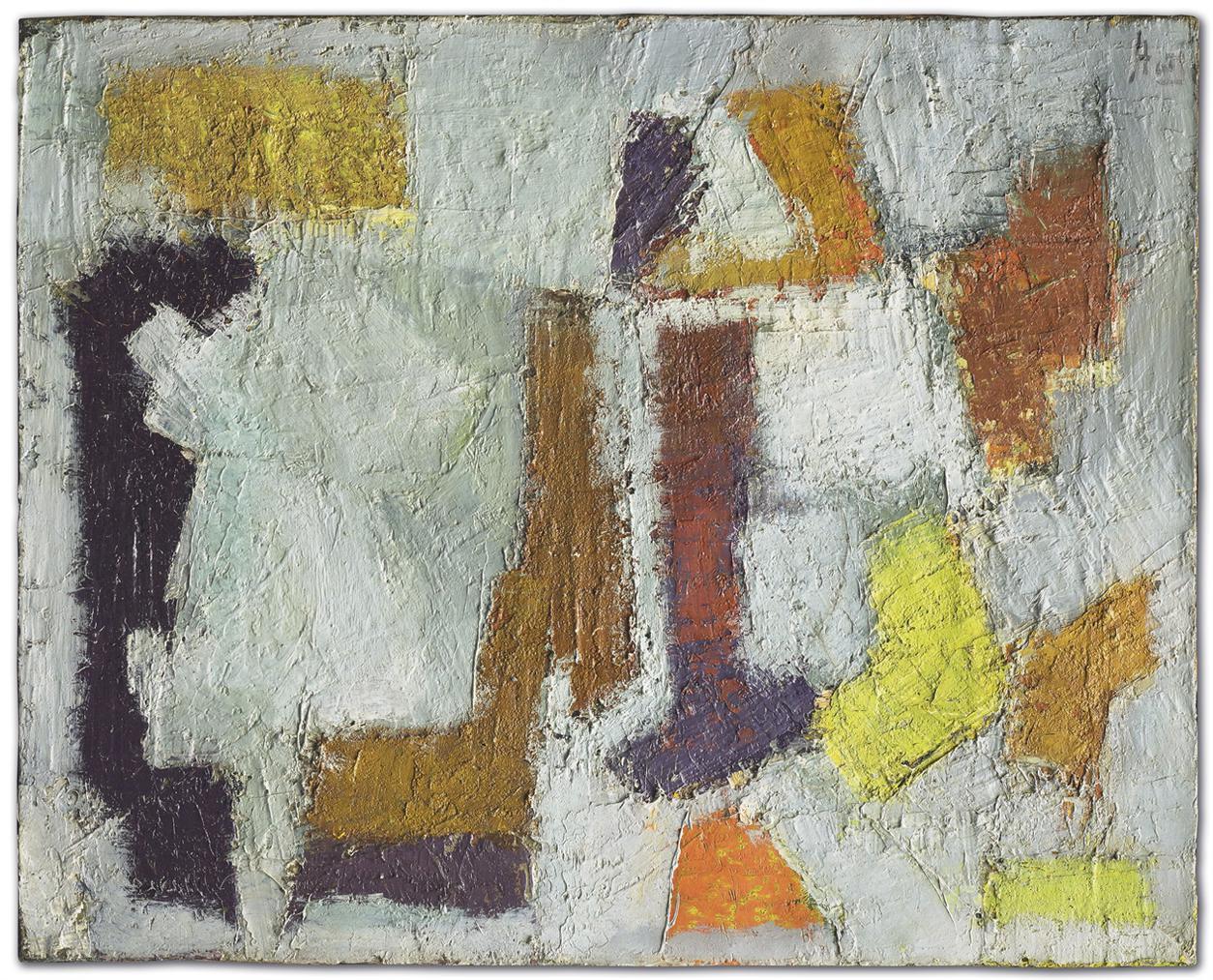 Nicolas de Stael-Composition (Peinture)-1949