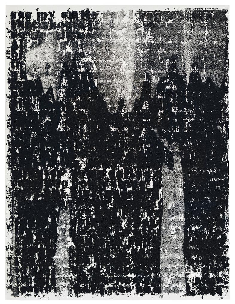 Glenn Ligon-Mirror II Drawing #2-2010