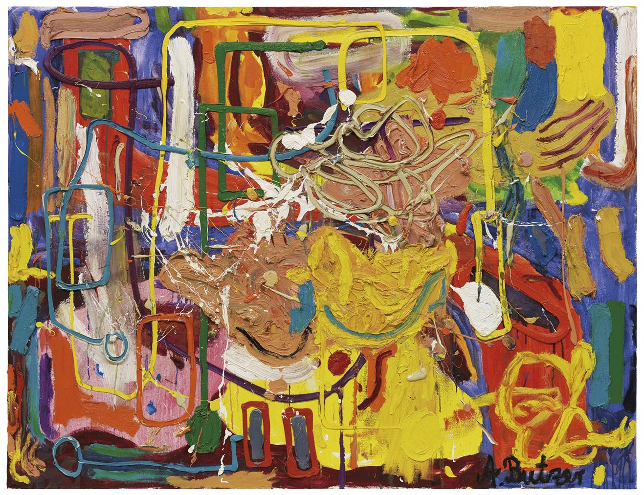Andre Butzer-Tal Der Farben Und Formen (Valley Of Colours And Forms)-2009