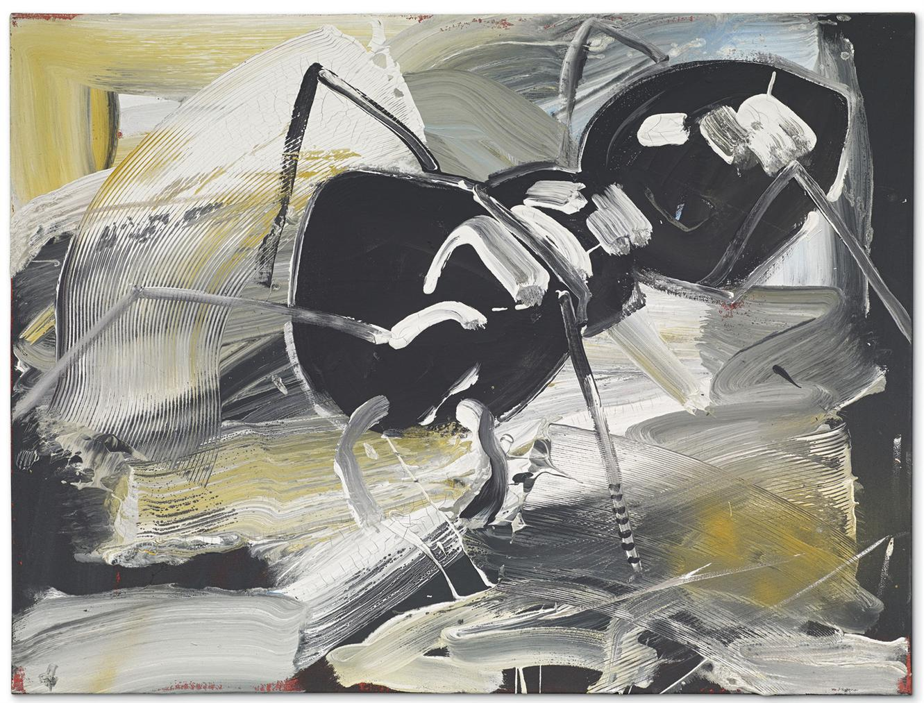 Albert Oehlen-Ameise (Ant)-1982