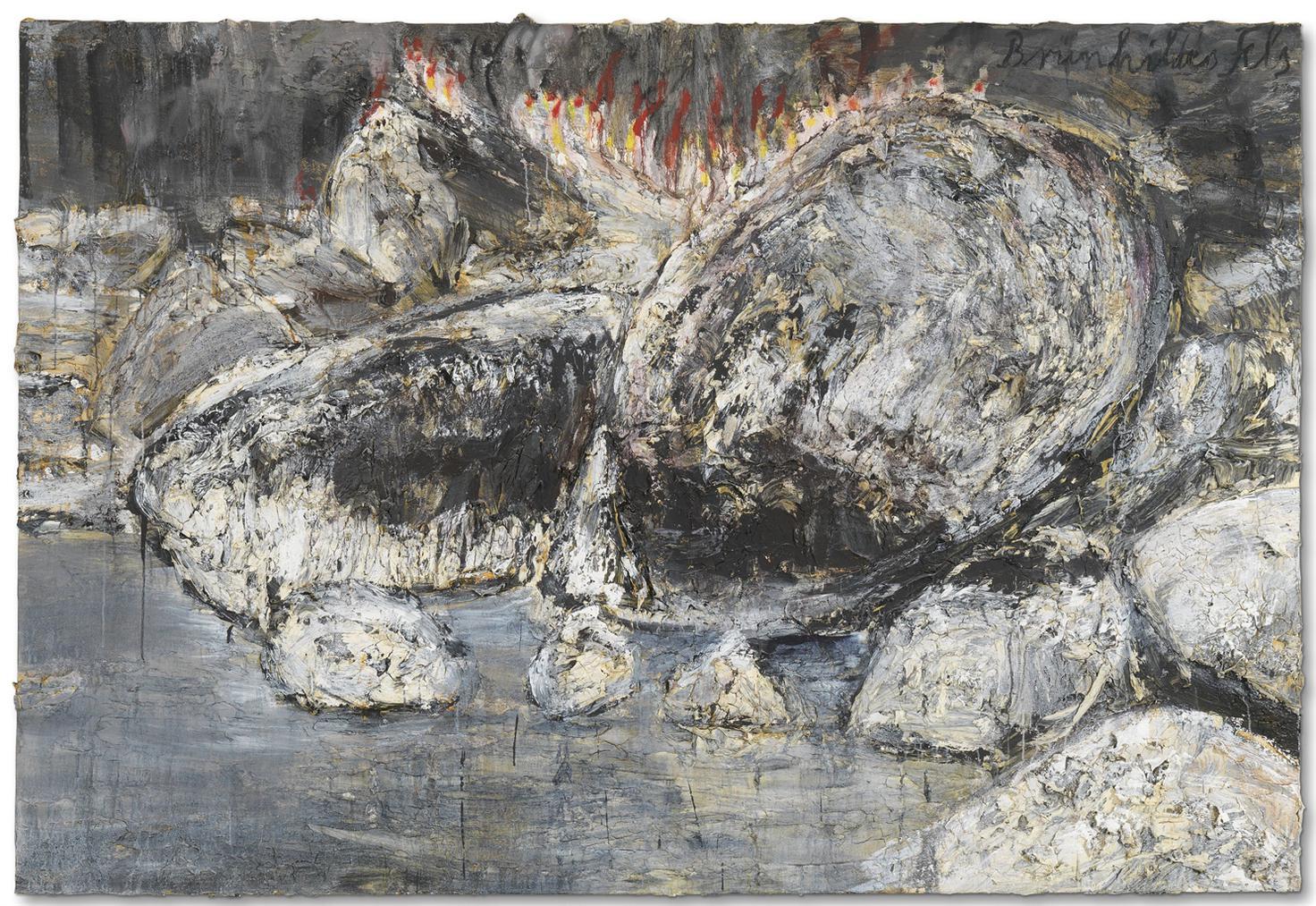 Anselm Kiefer-Brunhildes Fels (Brunhildes Rock)-2007