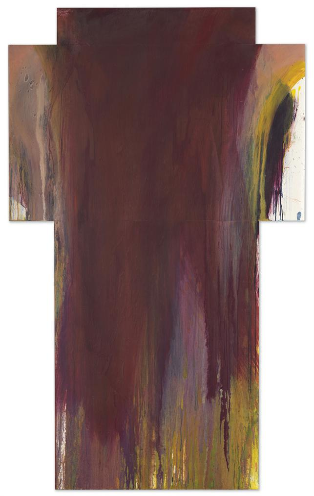 Arnulf Rainer-Weinkreuz (Wine Cross)-1991