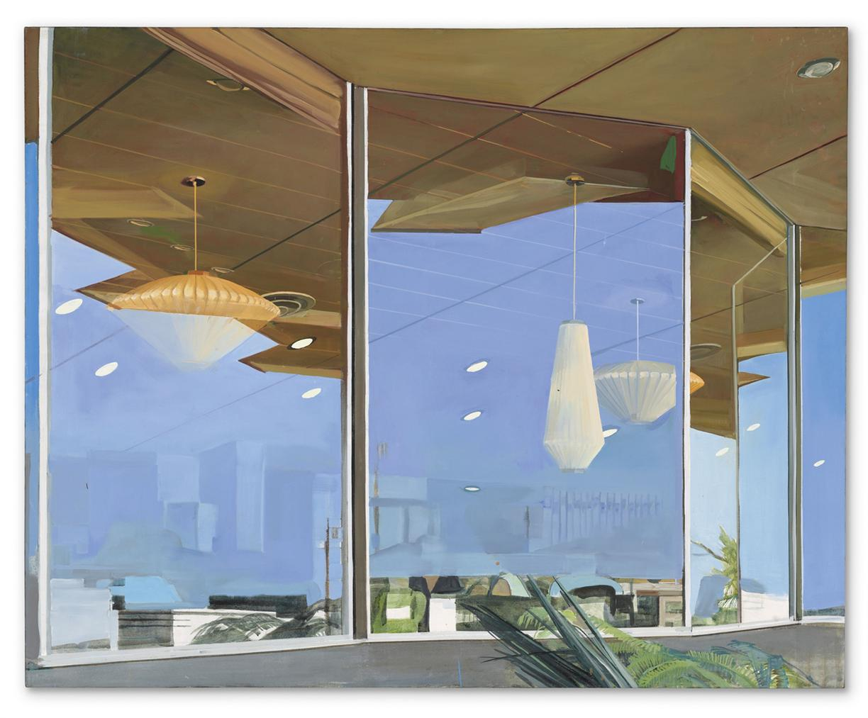 Richard Estes-Storefront Reflections Miami-1969