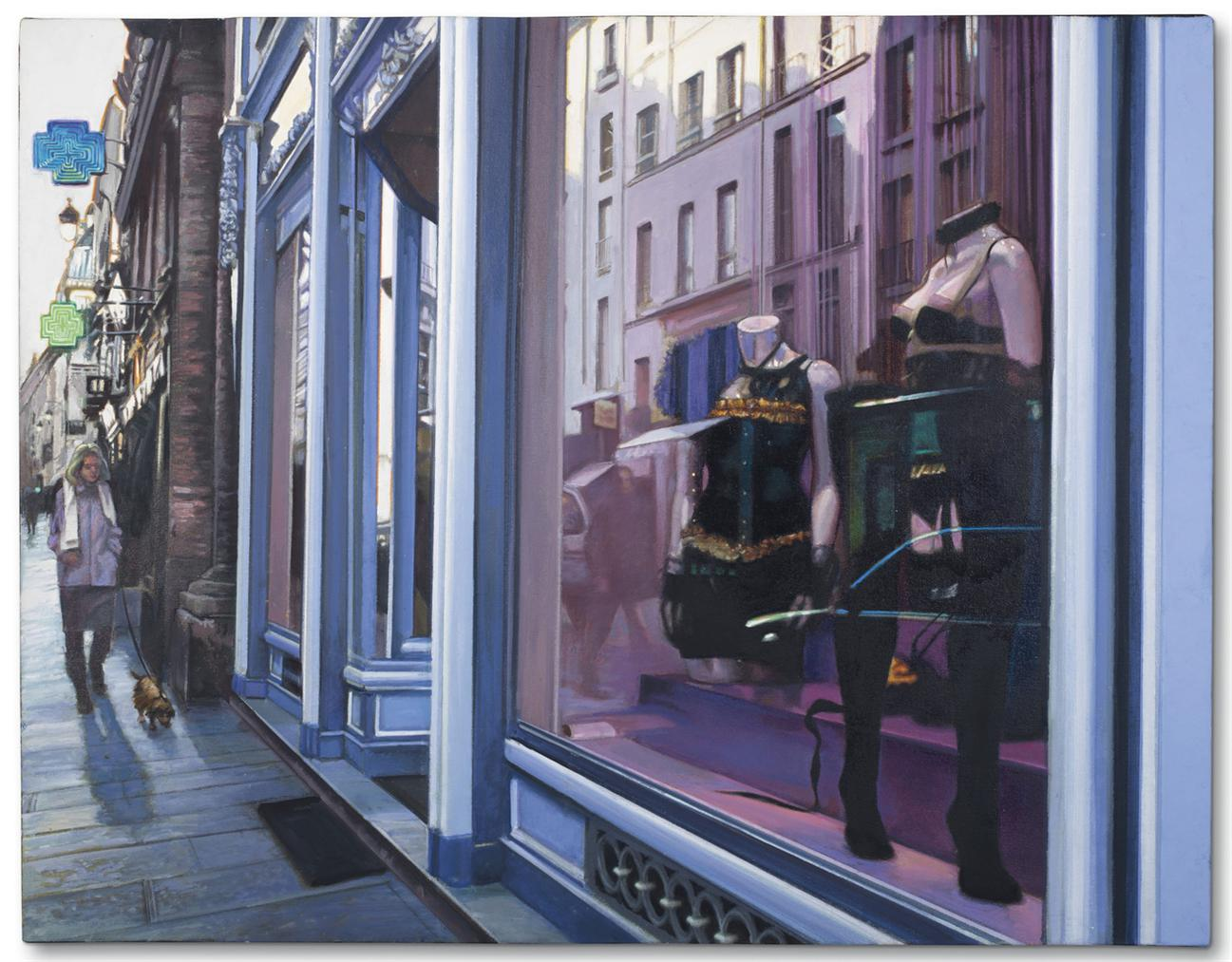 Tom Blackwell-Chantal Thomass, Rue St. Honore, Morning-2007