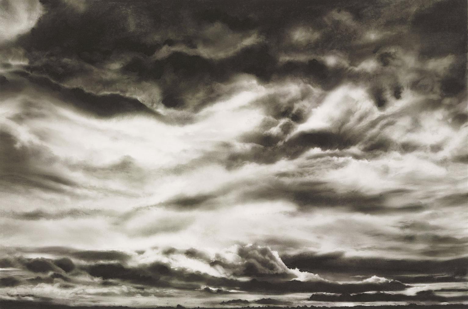 Robert Longo-Study For Low Sky-2011