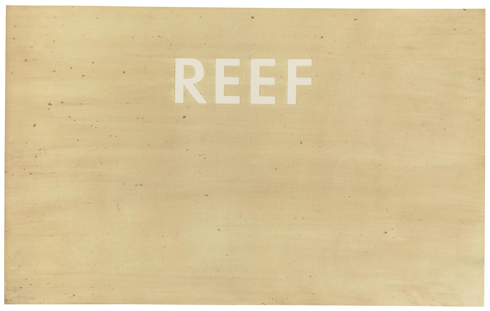 Ed Ruscha-Reef-1975