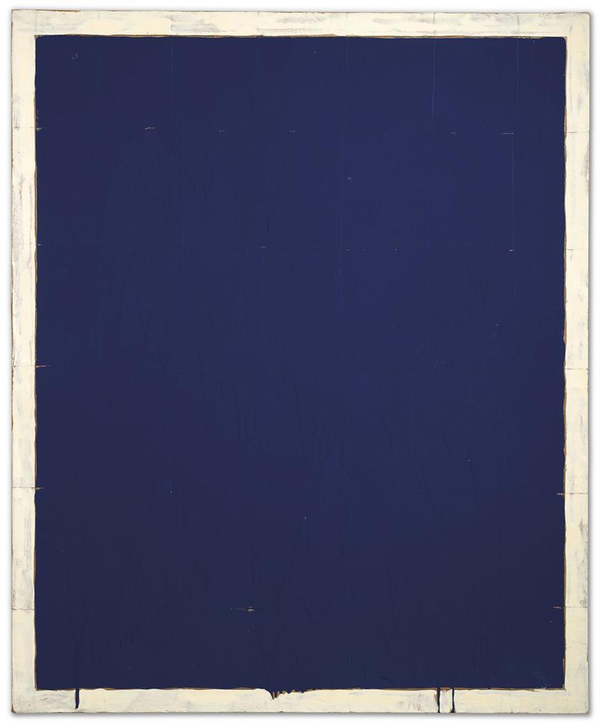 Mario Schifano-Monocromo Blu (Monochrome Blue)-1960