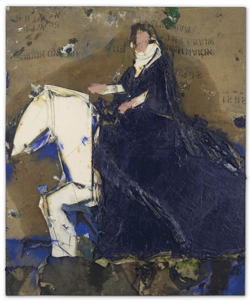 Manolo Valdes-Dama A Caballo (Lady On Horseback)-