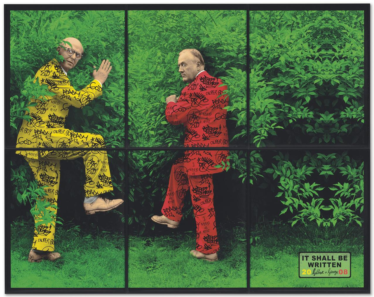 Gilbert and George-It Shall Be Written-2008