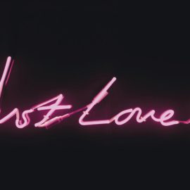 Tracey Emin-Just Love Me-1998
