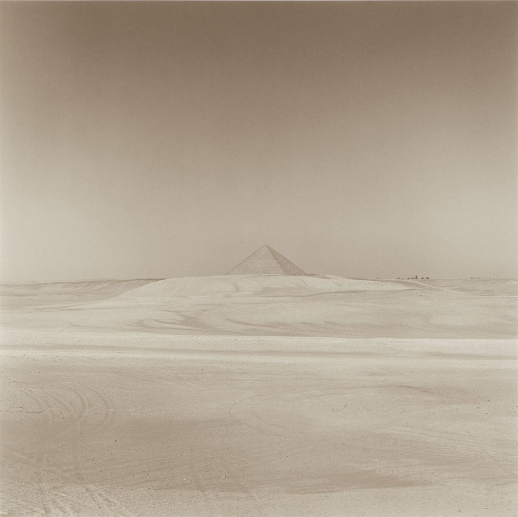 Lynn Davis-Africa #16, Red Pyramid, Dashur, Egypt-1997