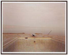 Richard Misrach-Diving Board, Salton Sea-1983