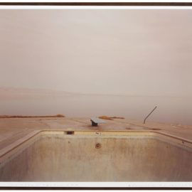 Richard Misrach-Diving Board, Salton Sea-1983