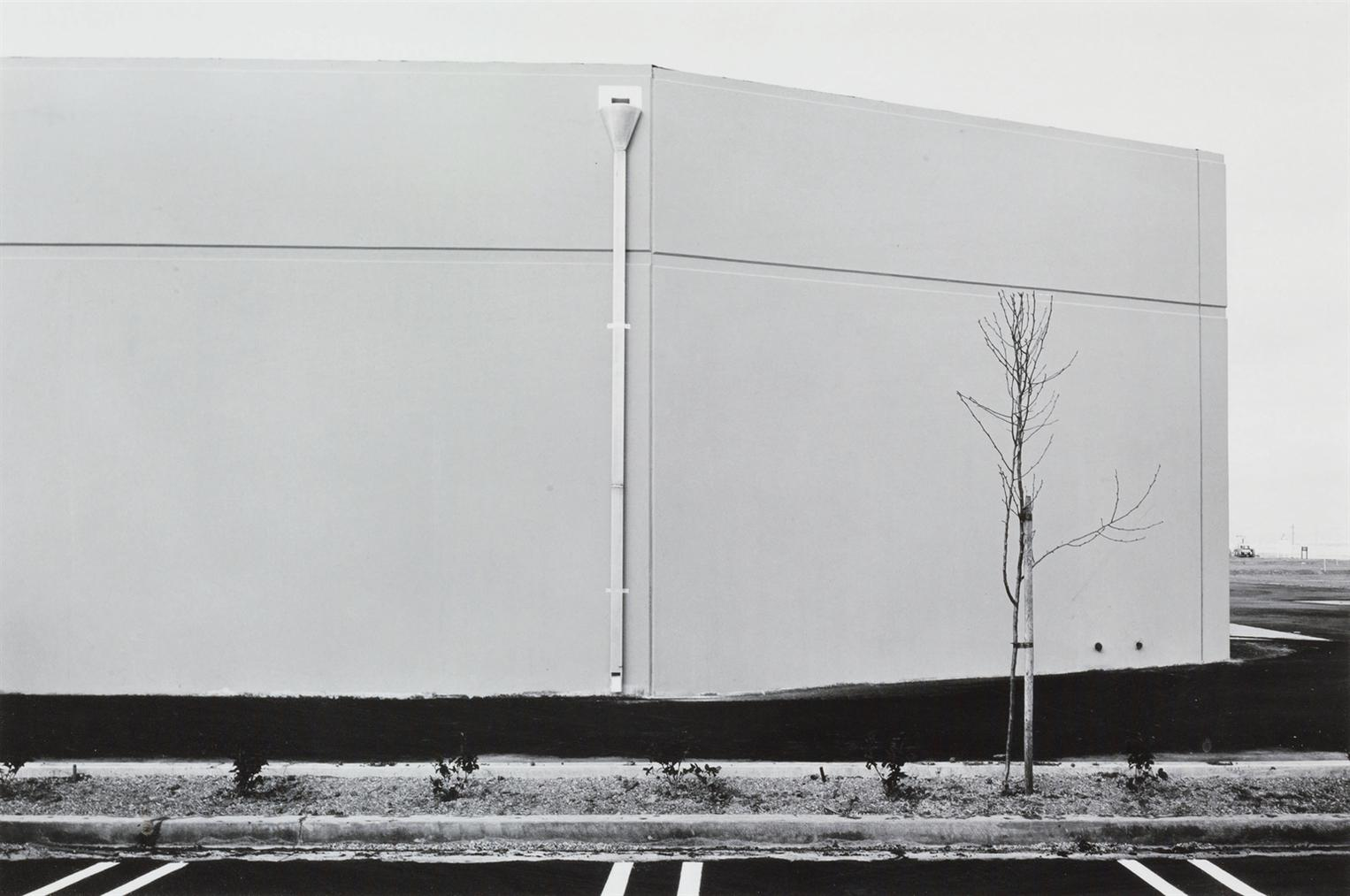Lewis Baltz-South Wall, Unoccupied Industrial Structure, 16812 Milliken, Irvine, #19 From The New Industrial Parks Near Irvine, California-1974